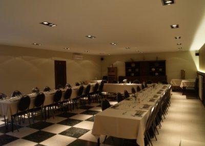 Restaurant Michel à Boninne Namur Salle de réception
